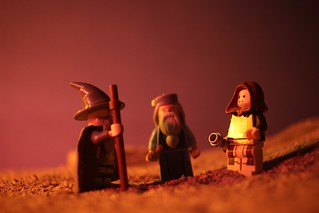 A meeting of old wizards