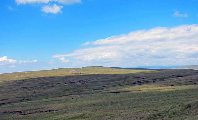 Looking from Hugh Seat to Gregory Chapel on Mallerstang Edge.