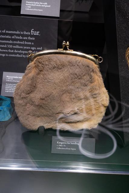 Kangaroo handbag