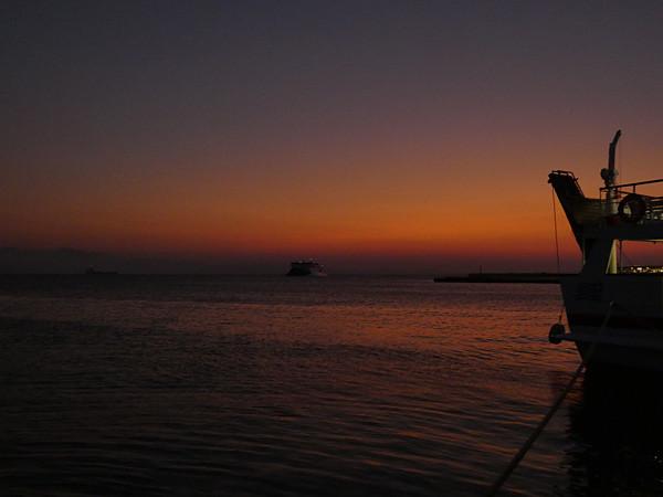 nuit sur le port