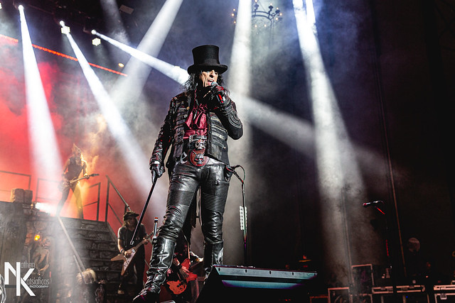 Alice Cooper (w/ Halestorm, Motionless in White) @ Maine Savings Bank Pavilion (Westbrook, ME) on August 10, 2019