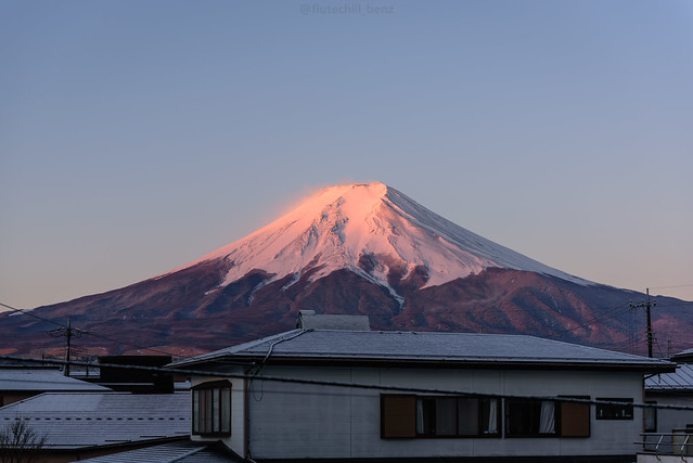 first to meet Fujisan