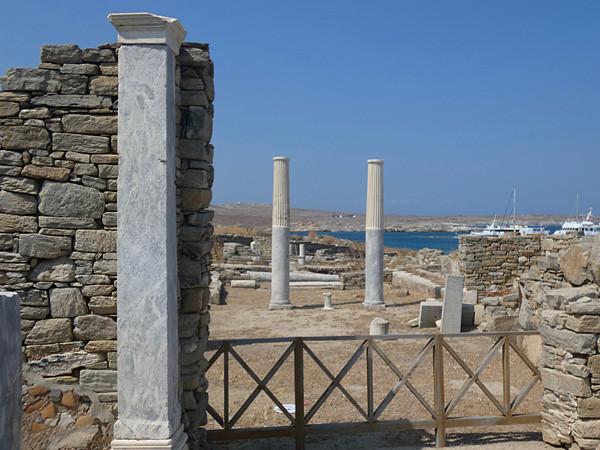 colonnes de maison