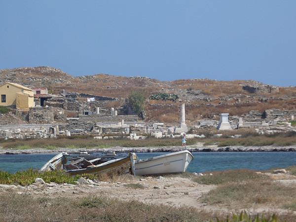 barques à Délos