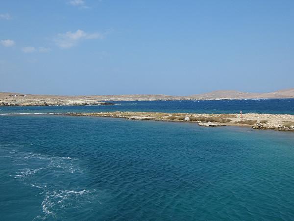 mer à Délos