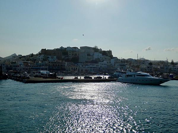 départ de Naxos pour Délos