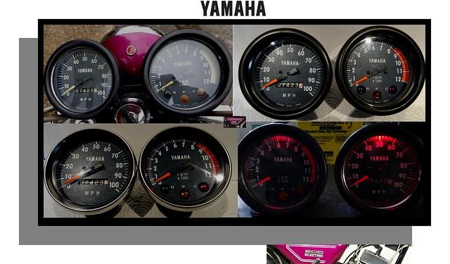 Before & After Yamaha Clocks CS3 CS5 RD200