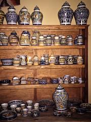 Pottery sold in Tlaquepaque, Jalisco
