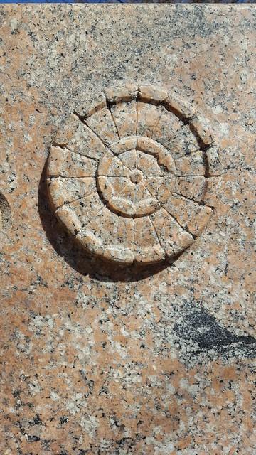 stone rosette