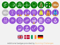 Running Challenges badges