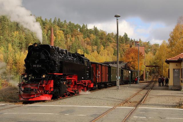 2018-10-21; 0037. HSB 99 234 met GmP Sonderzug. Silberhütte.