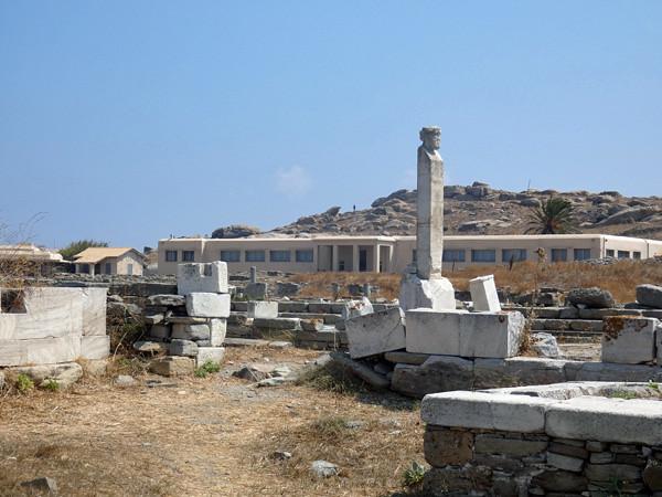 le musée archéologique de Délos