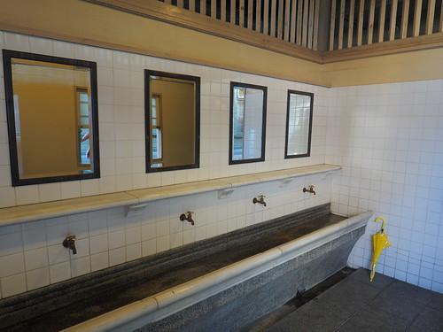 レトロ門司港駅:手洗い場
