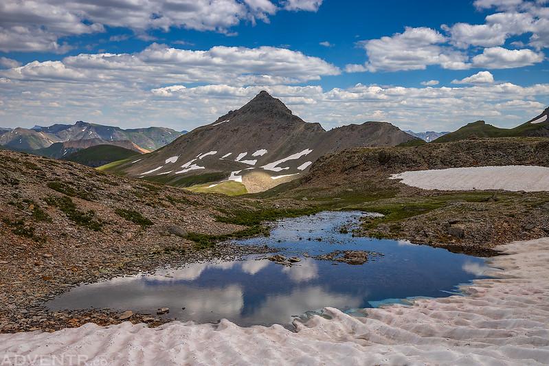 Columbine Basin Tarn