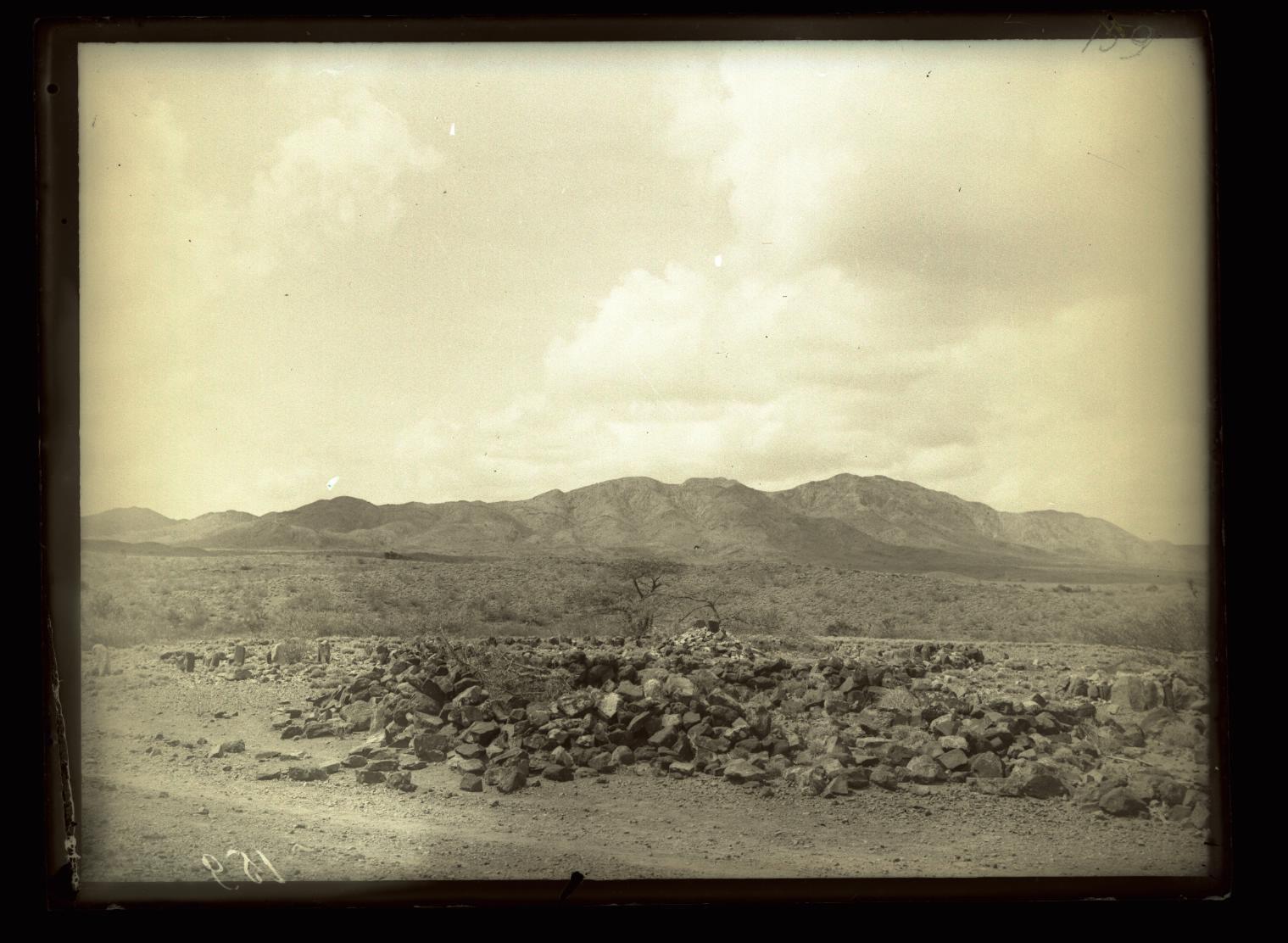159. В сомалийской пустыне. Сомалийская могила