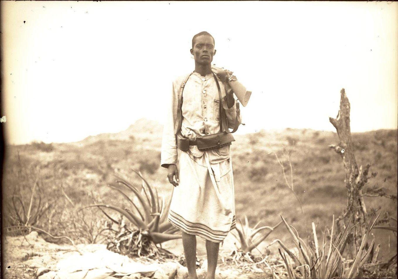 156. В сомалийской пустыне. Юсуф