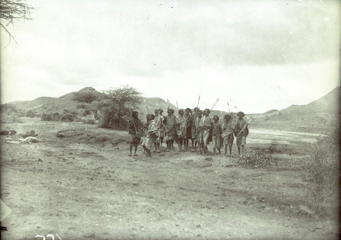155. В сомалийской пустыне. Феррат. Бурома