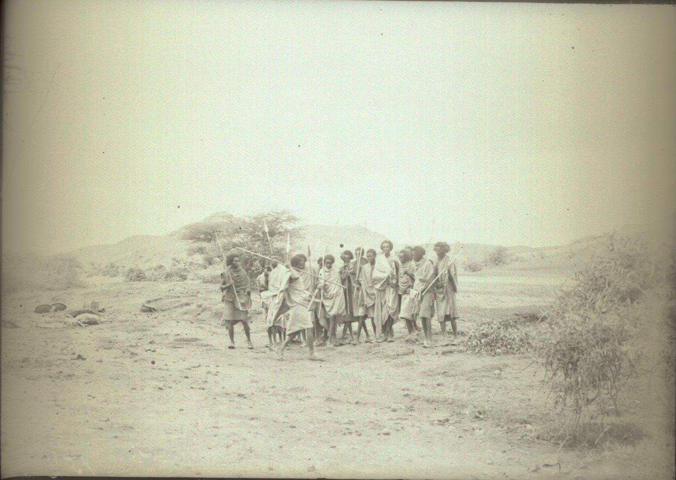 152. В сомалийской пустыне. Феррат. Бурома