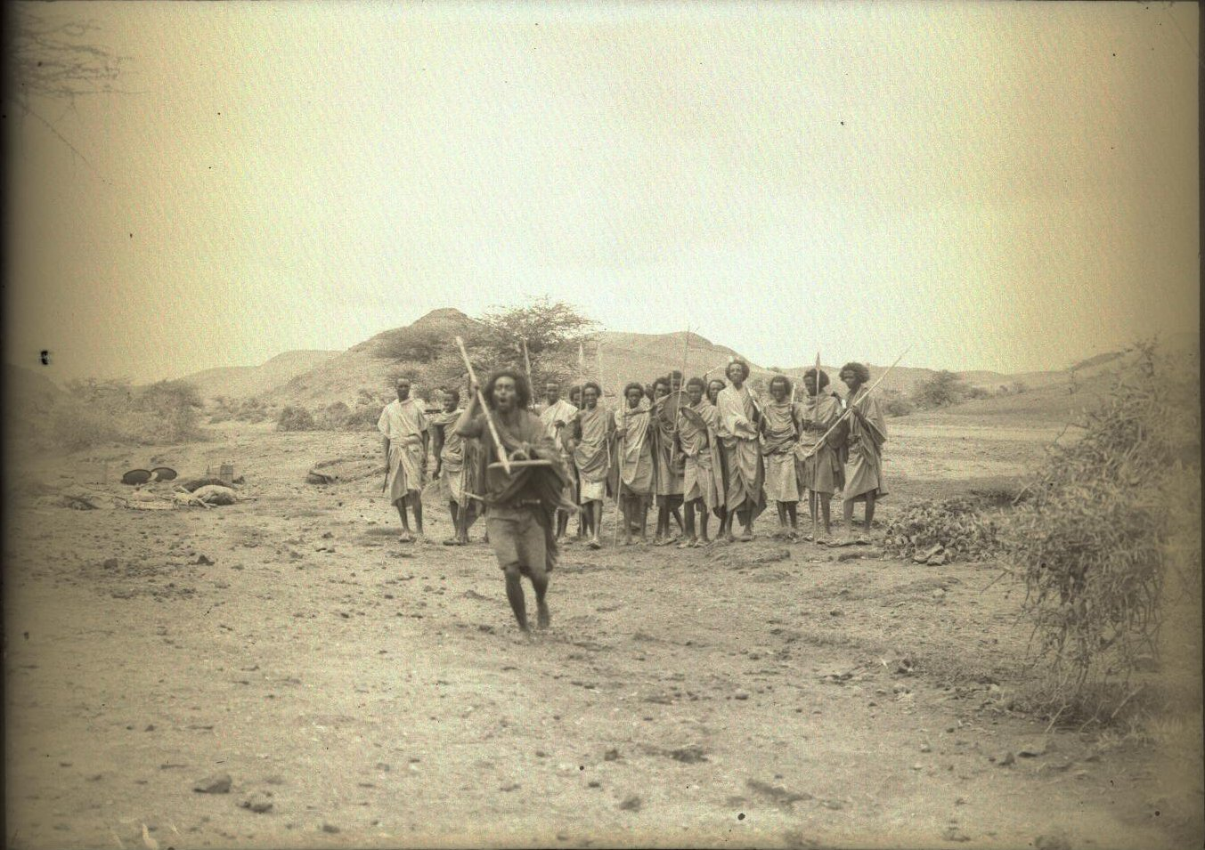 151. В сомалийской пустыне. Феррат. Бурома