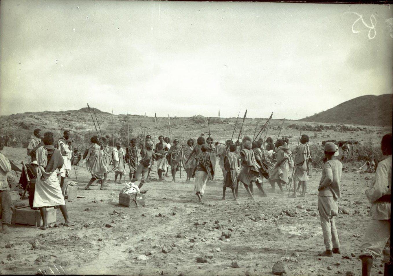 149. В сомалийской пустыне. Феррат. Бурома