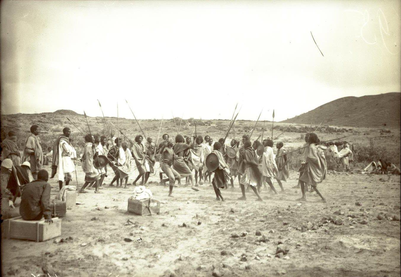 147. В сомалийской пустыне. Феррат. Бурома