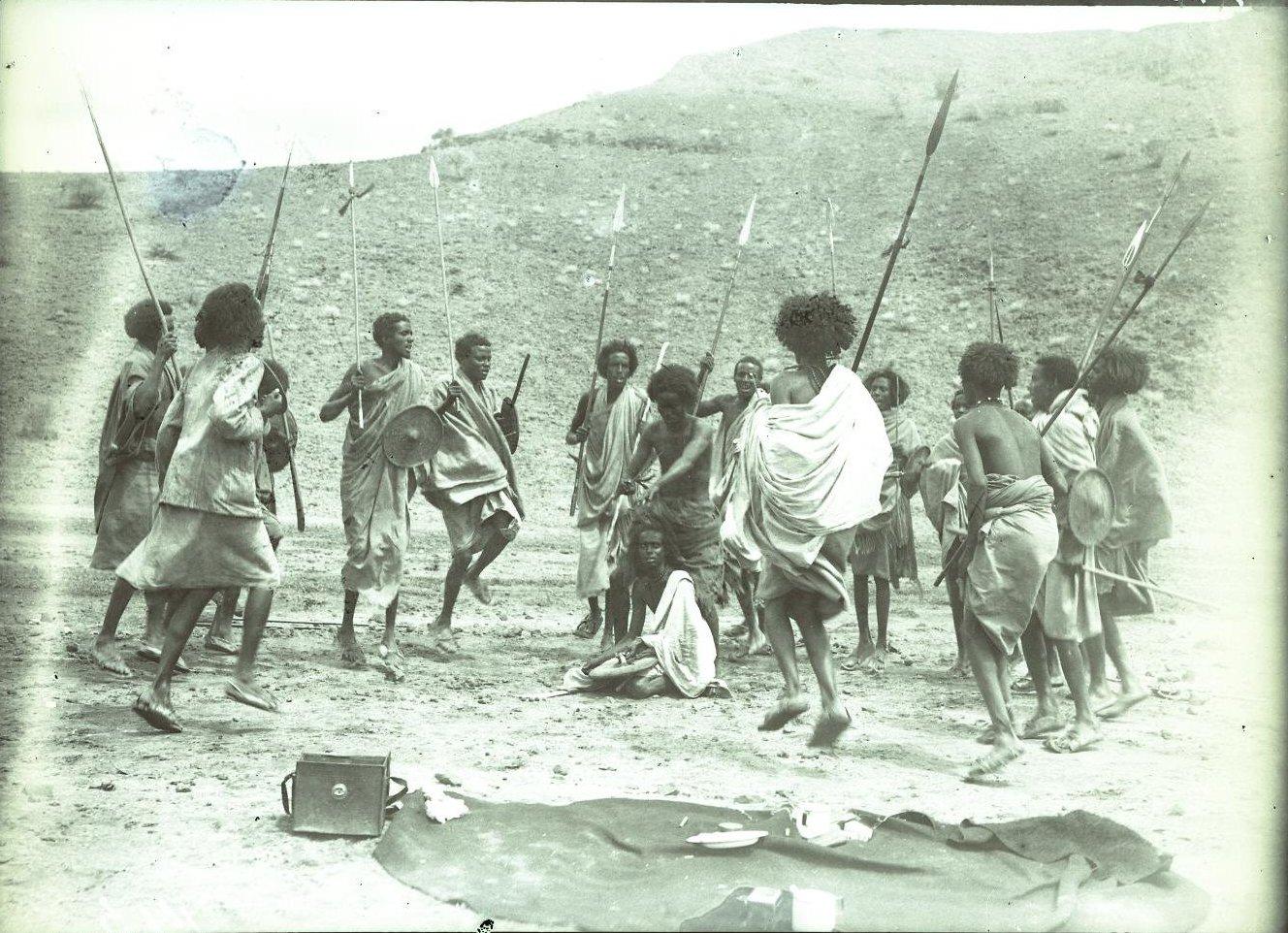 143. В сомалийской пустыне. Мордале. Бурома