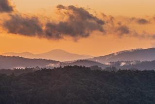Sunset in Muszyna