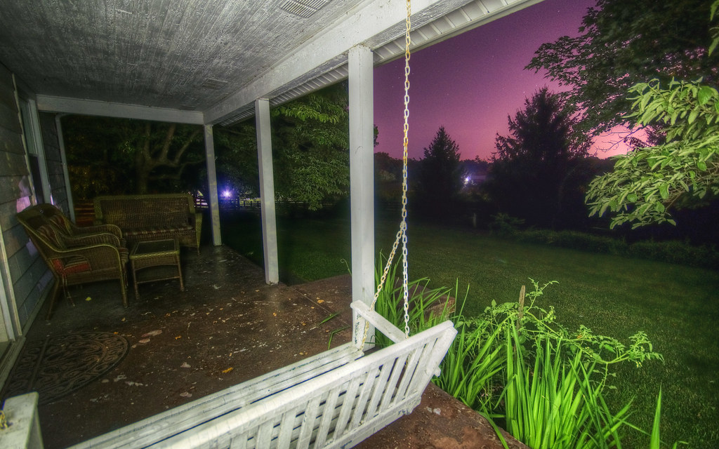 Kentucky Front Porch Sequence VII: Night