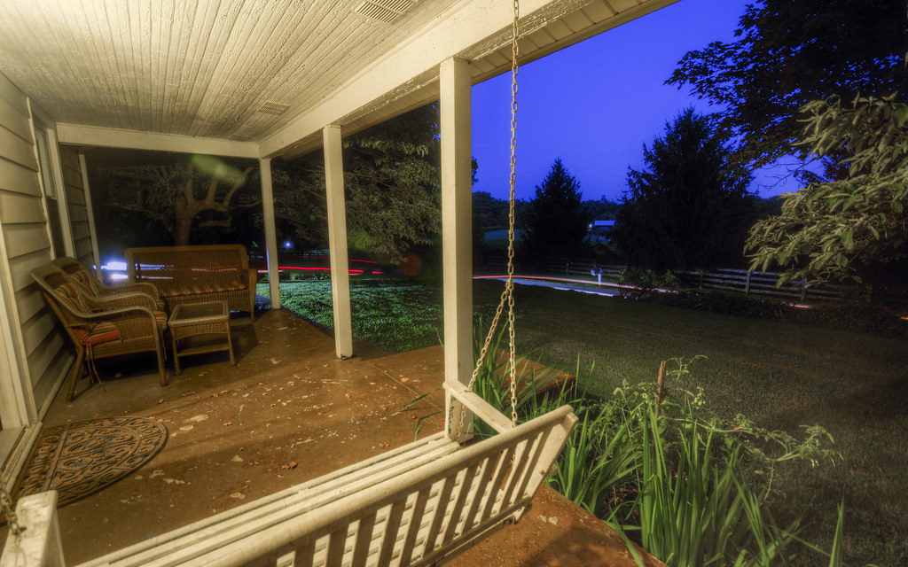 Kentucky Front Porch Sequence VI: Blue Hour