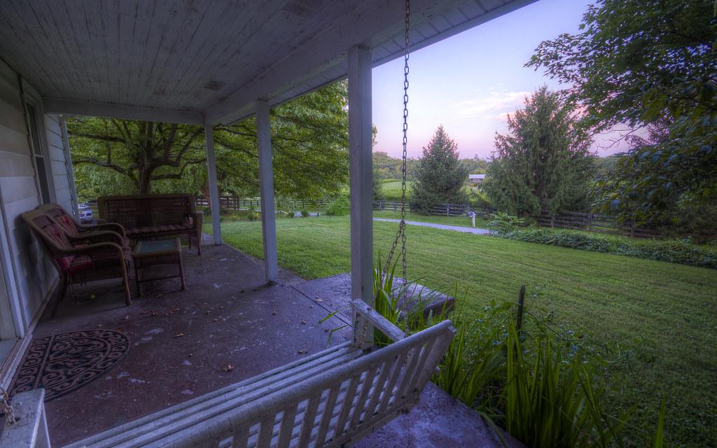 Kentucky Front Porch Sequence V: Dusk