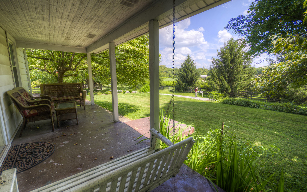 Kentucky Front Porch Sequence III: Midday
