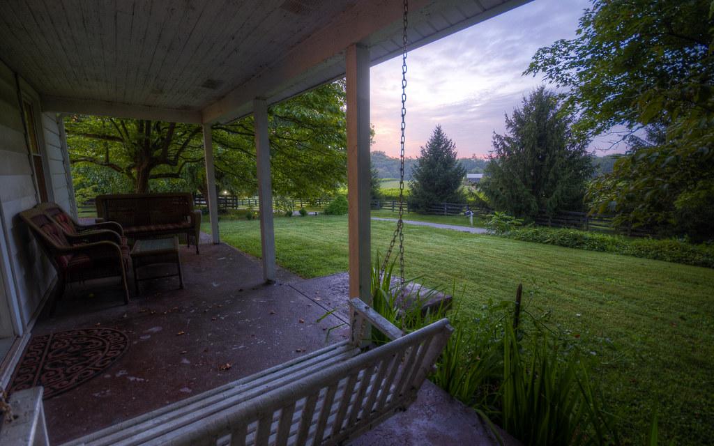 Kentucky Front Porch Sequence I: Dawn