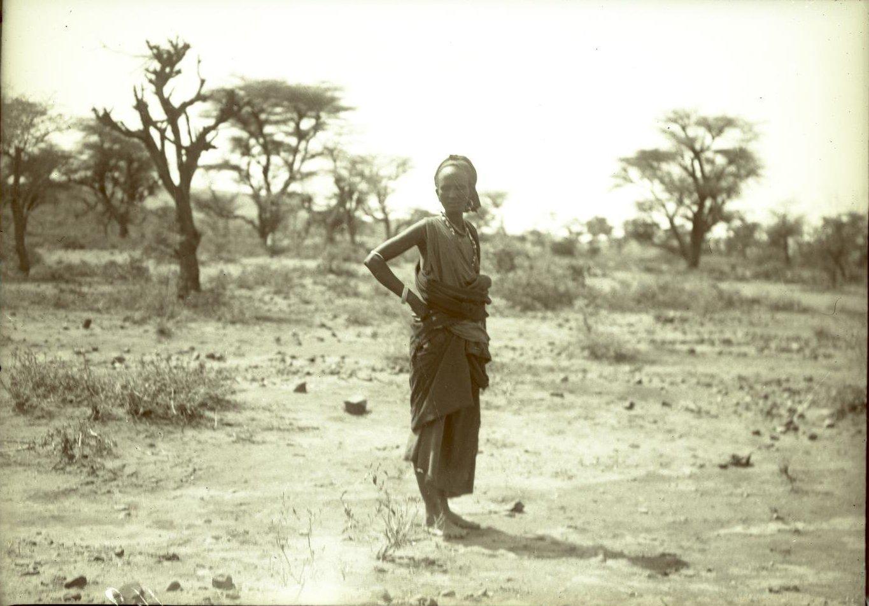 161. В сомалийской пустыне. Сомалийка