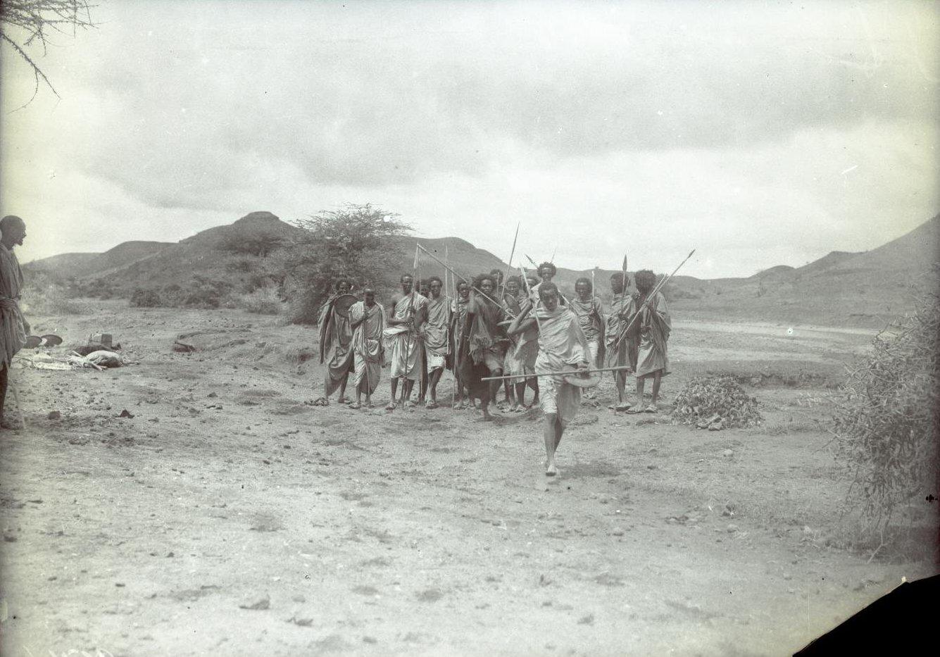 154. В сомалийской пустыне. Феррат. Бурома