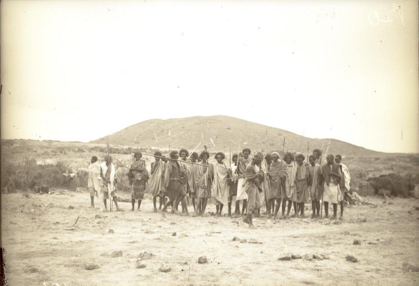 153. В сомалийской пустыне. Феррат. Бурома