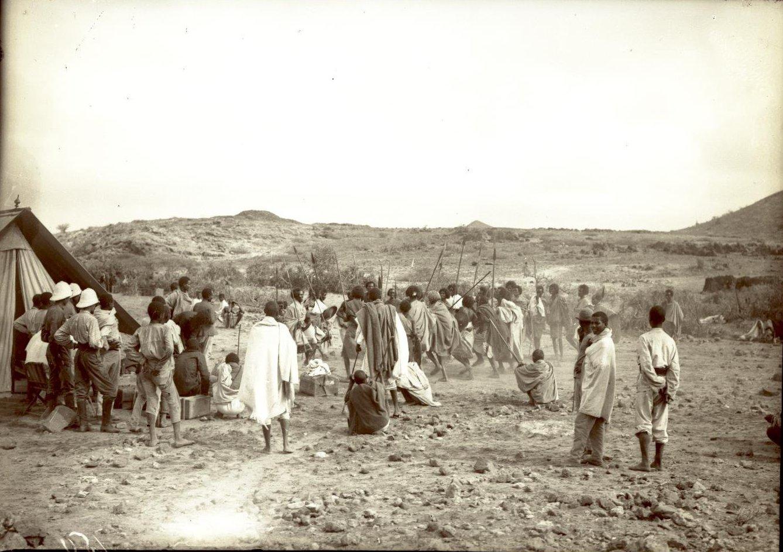 150. В сомалийской пустыне. Феррат. Бурома