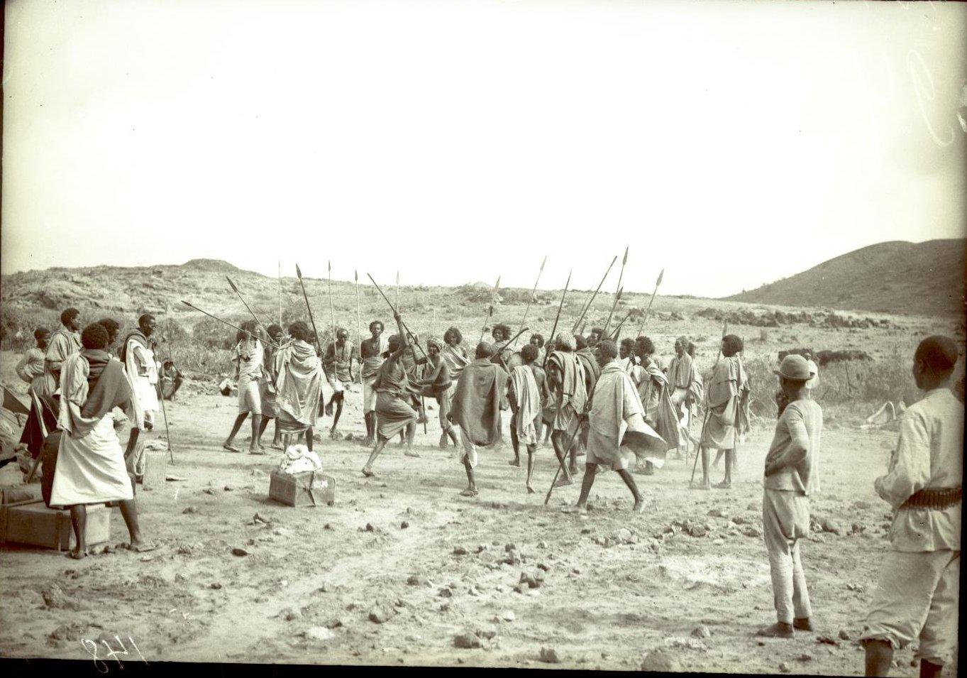 148. В сомалийской пустыне. Феррат. Бурома