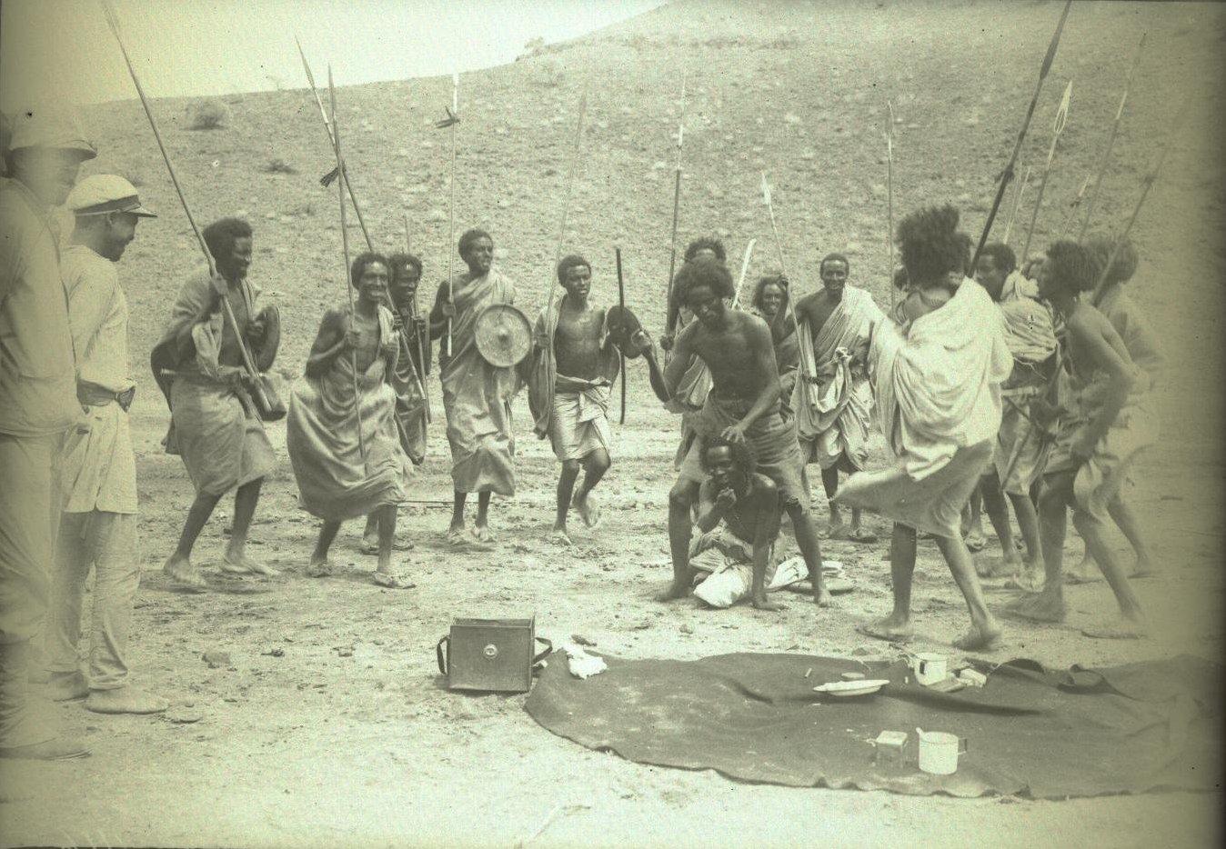 146. В сомалийской пустыне. Феррат. Бурома
