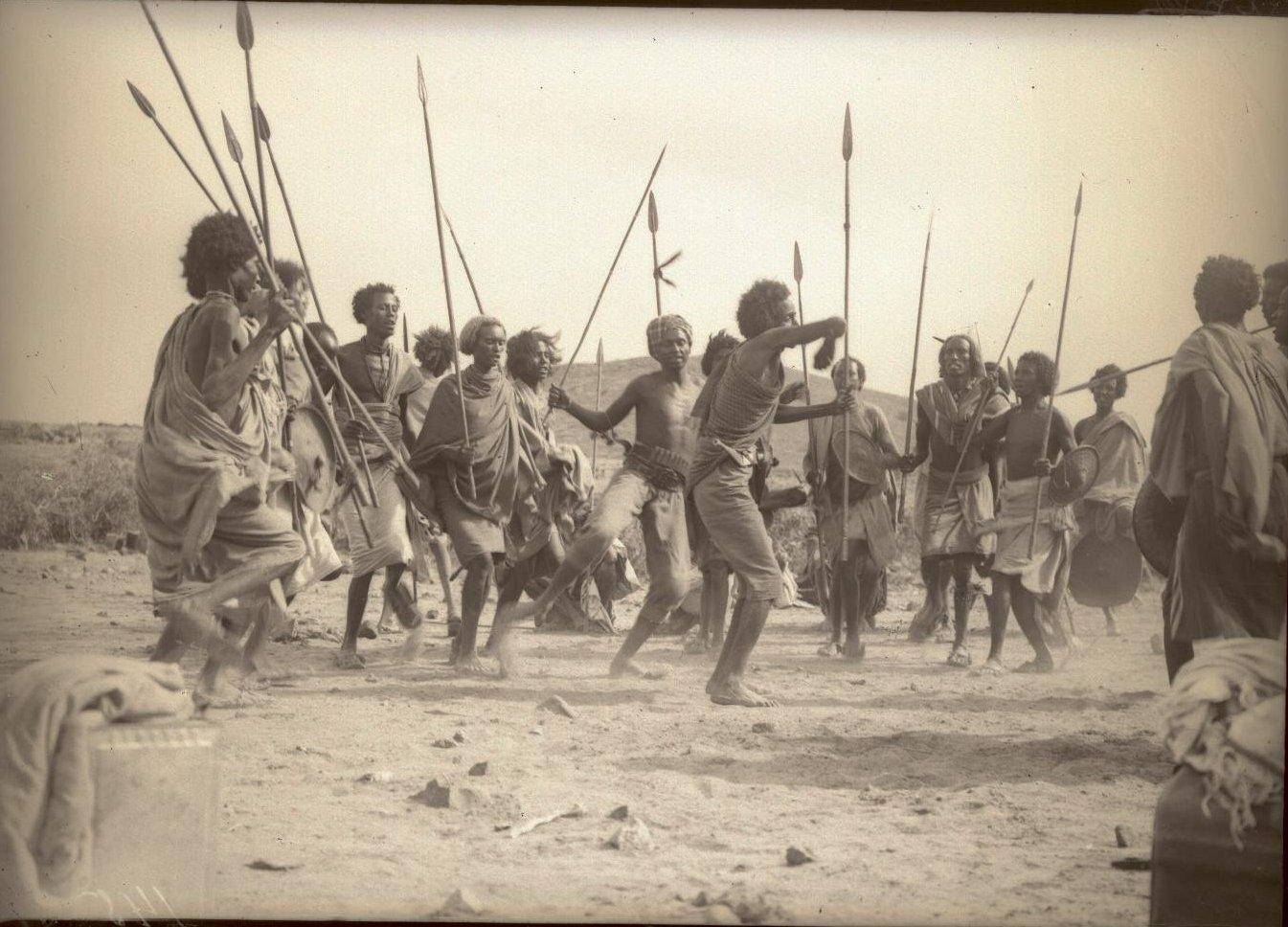 145. В сомалийской пустыне. Феррат. Бурома