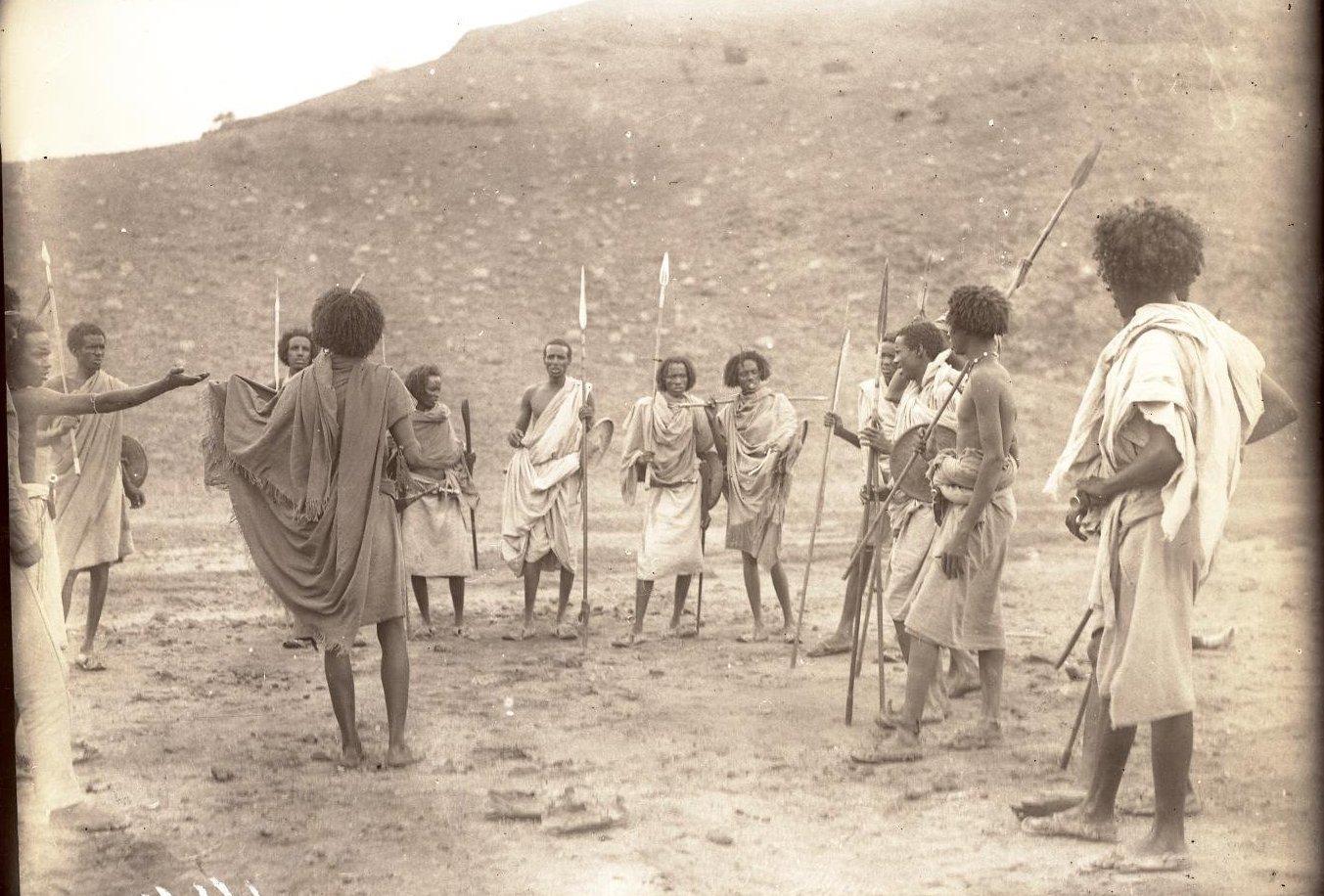 144. В сомалийской пустыне. Мордале. Бурома