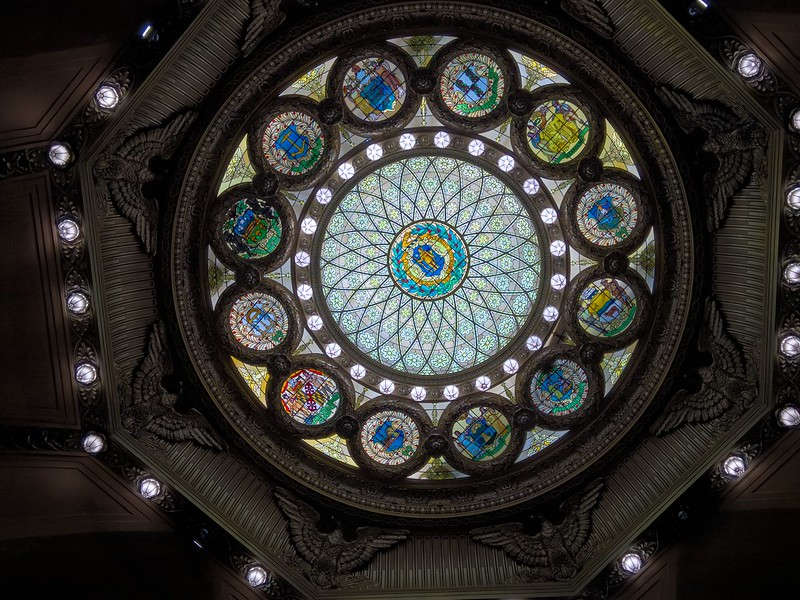 Stained Glass at the Massachusetts State House