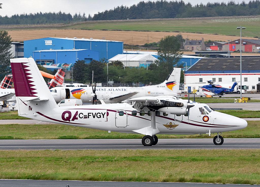 Qatar Air Force DH6