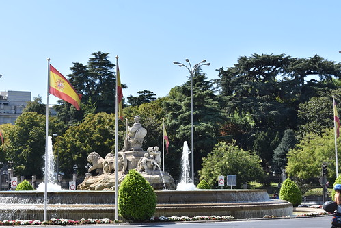 The Cibeles fountain seen from behind | by JacobMJensen