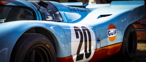 Porsche 917K Gulf Racing Team 1970