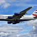 Airbus A380-800-G-XLEF-British Airways