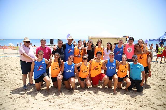 Trofeos -Torneo de Balonmano Playa Arrecife 2019