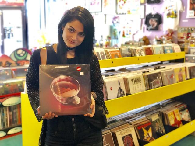Vinyl Variety: Daring Goth Pop Duo WINGTIPS Highlight Chicago's Best Record Stores