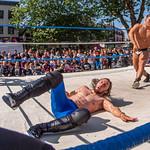 Preston City Wrestling on the Flag Market