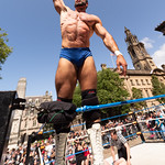Preston City Wrestling on the Flag Market