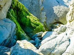 Rocas en la Playa de Tagle, Cantabria.